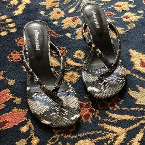 8e5c60cab4 Jeffrey Campbell Shoes - SALE Jeffrey Campbell Brink Kitten Heel Flip Flops